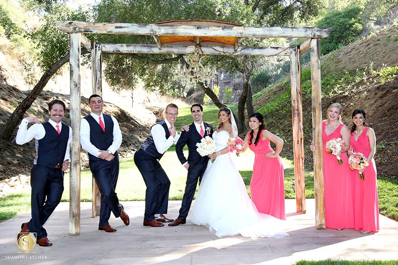 Los Willows Wedding, Outdoor country rustic wedding